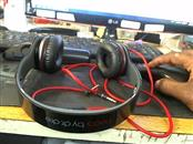 BEATS AUDIO Headphones SOLO HD BLACK AND RED